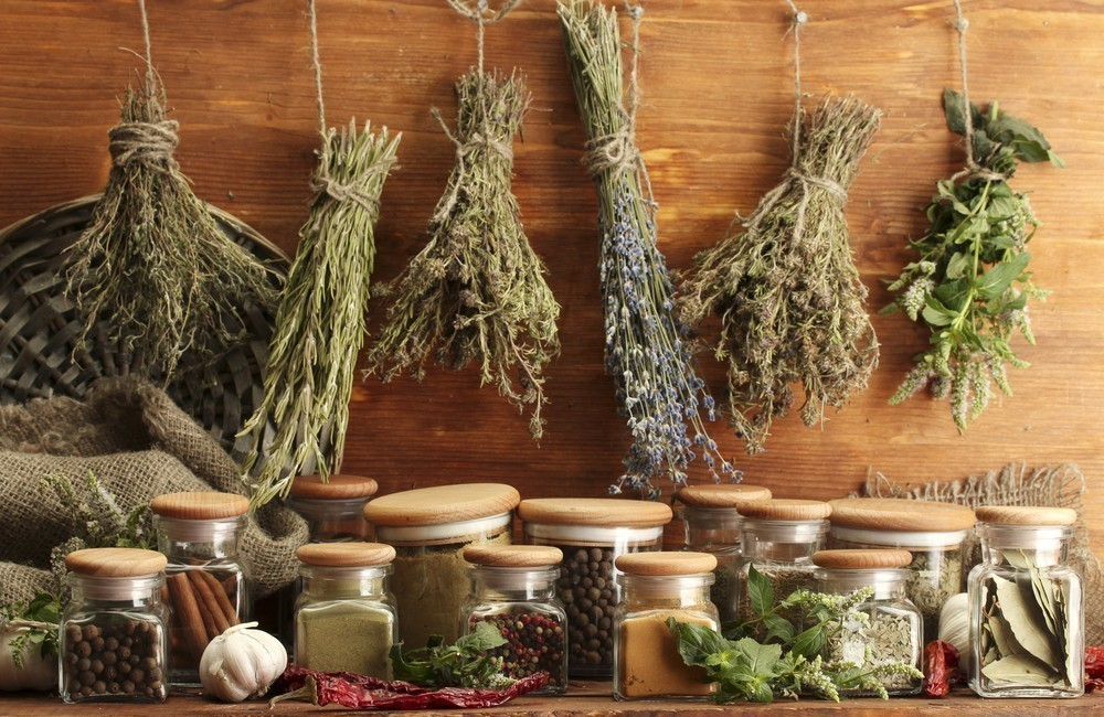 formas de conservar tus hierbas- secar al aire