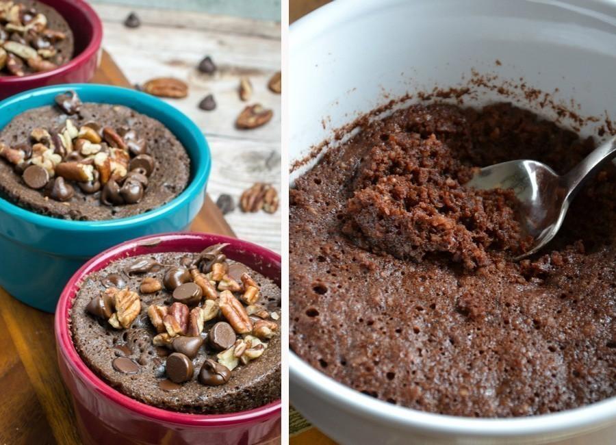 torta de chocolate sin harinas