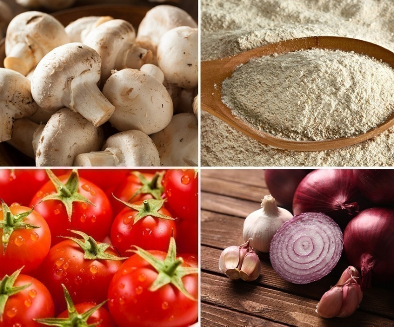 tarteletas de champiñones- ingredientes