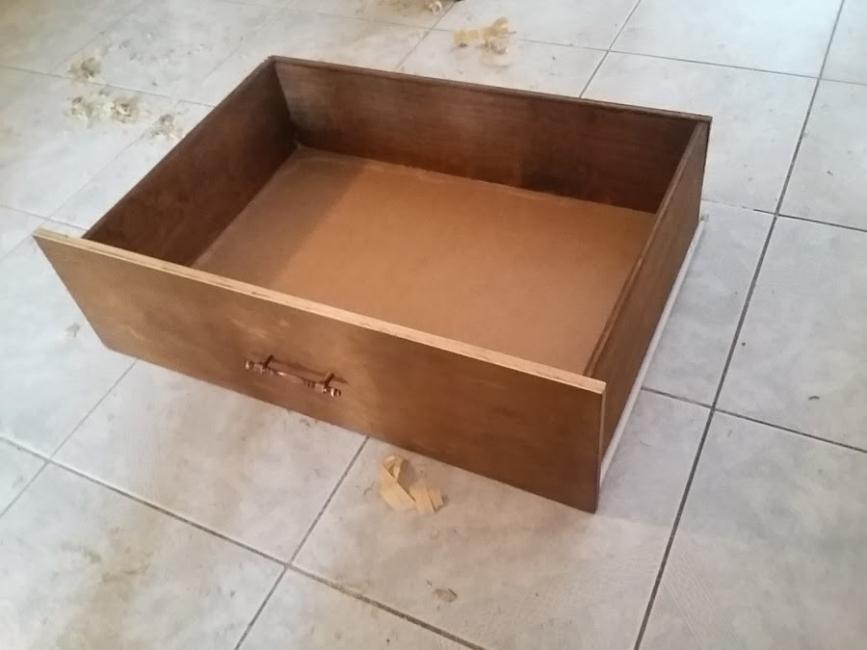 Cómo construir un mueble empotrado- cajón
