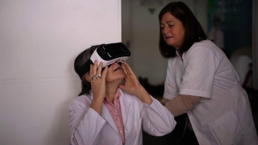 realidad virtual cáncer