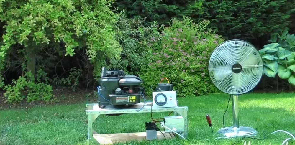 generador electrico casero