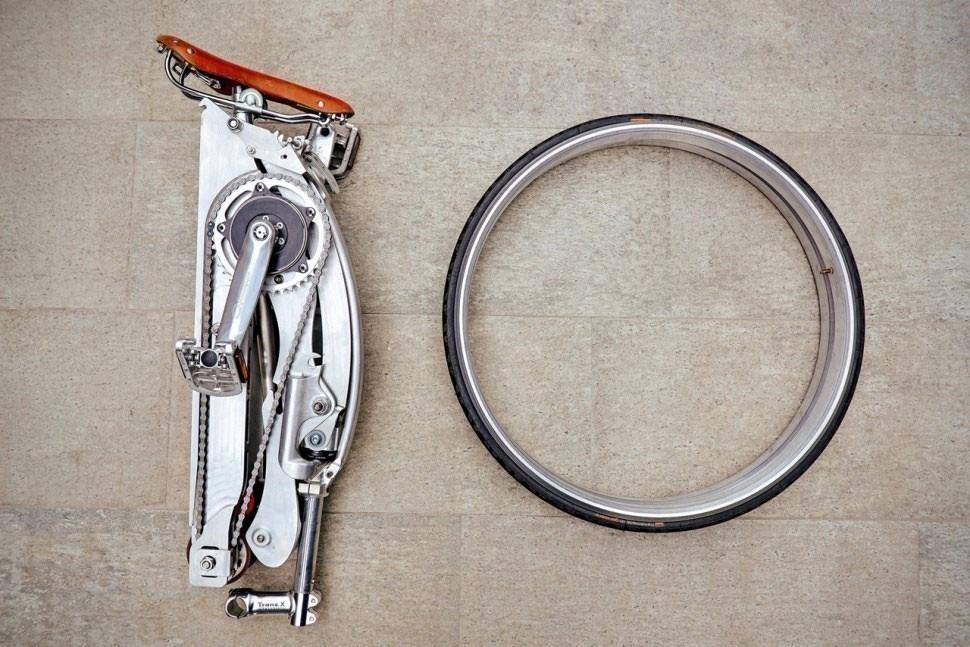 bicicleta plegable diseño