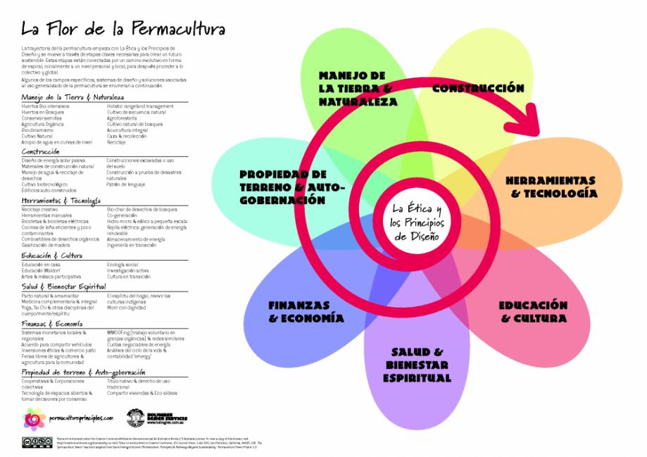 permacultura - Los 12 principios de diseño