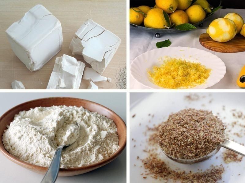 Pan dulce vegano - ingredientes