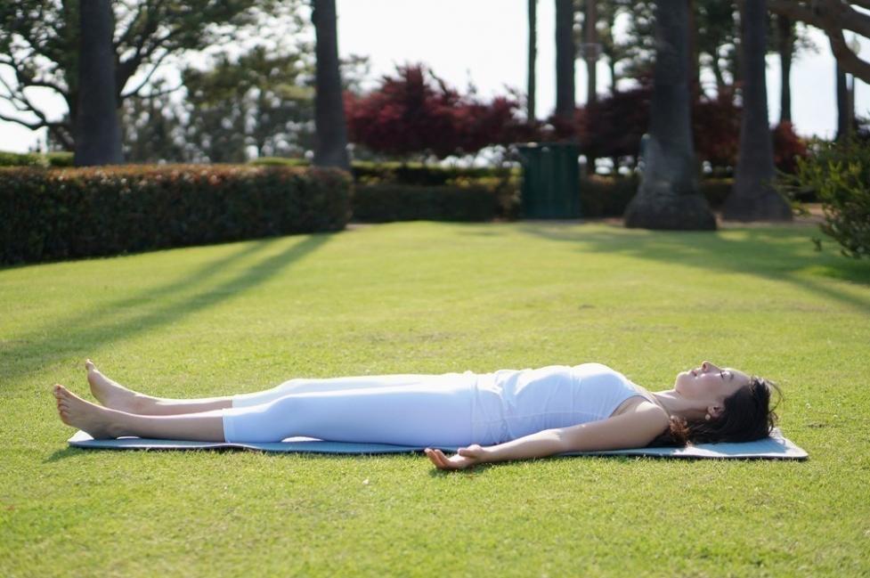 yoga para hacer en vacaciones - terminar la rutina