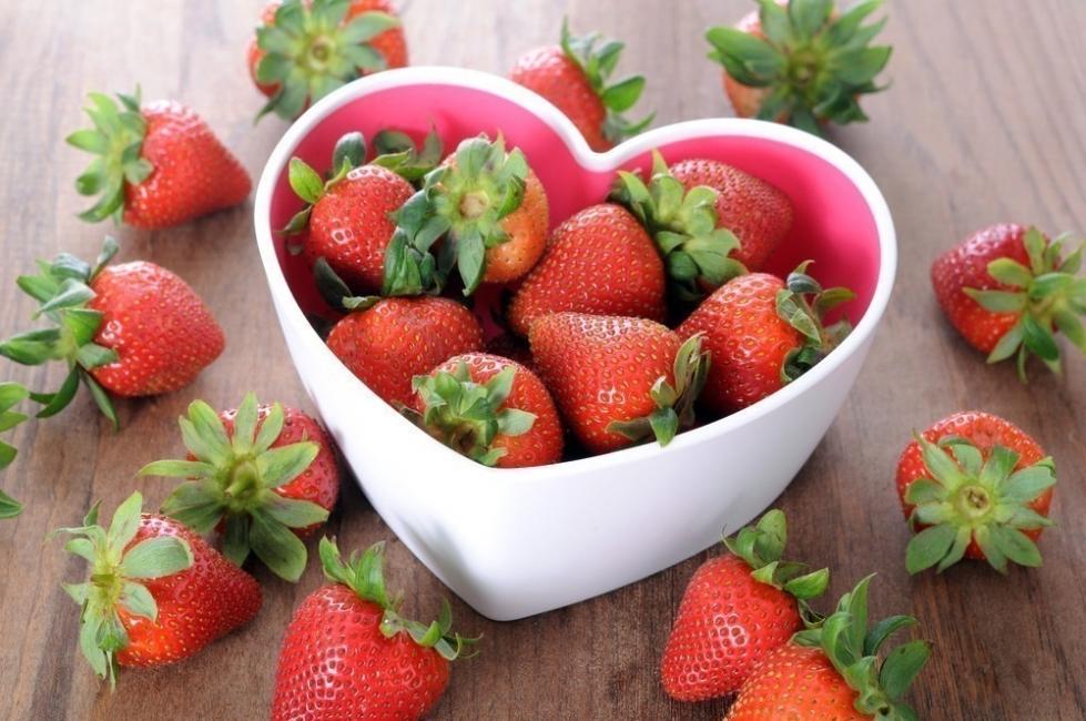 test de frutas - fresa
