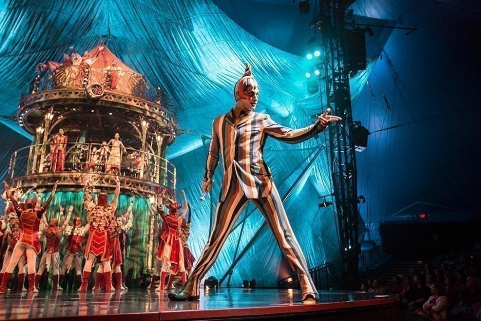 Cirque Du Soleil- a beneficio del circo del sur- kooza