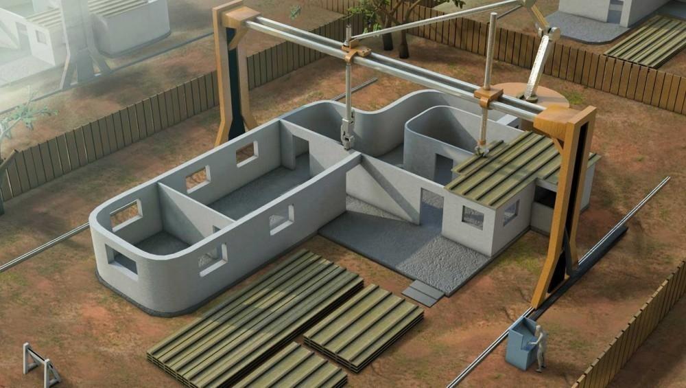 impresora 3D de viviendas