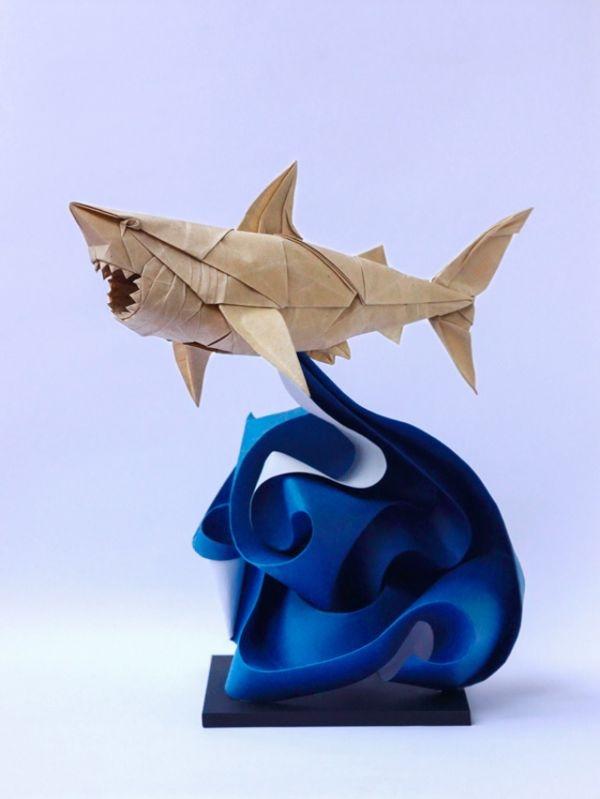 origami tiburon