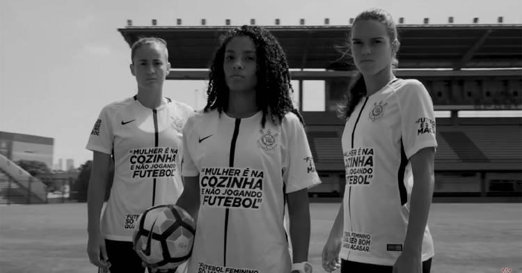 Las Jugadoras Del Corinthians Jugaron Con Camisetas Con