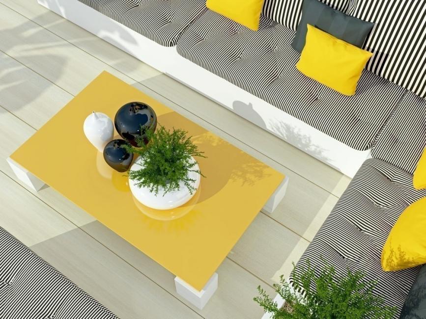 terraza de colores- color intenso