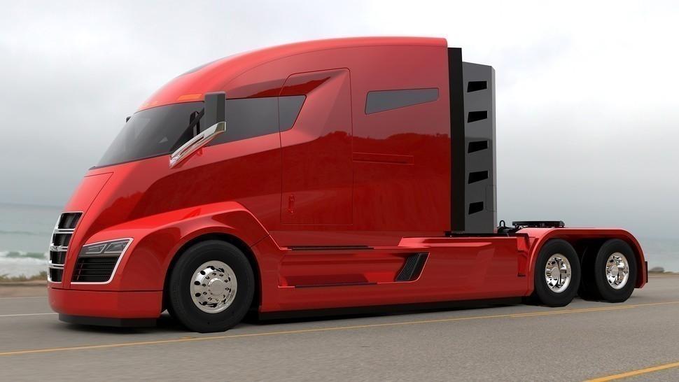 nikola one -camión eléctrico
