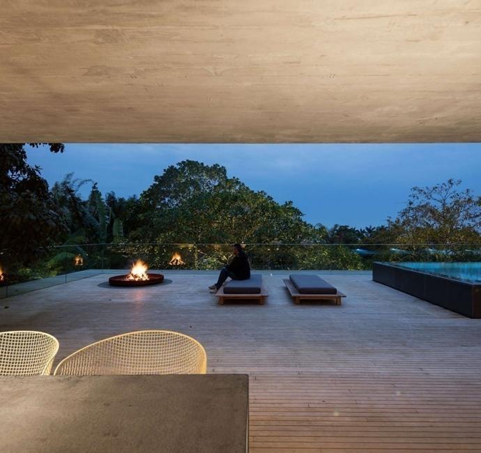 la casa en la jungla- terraza