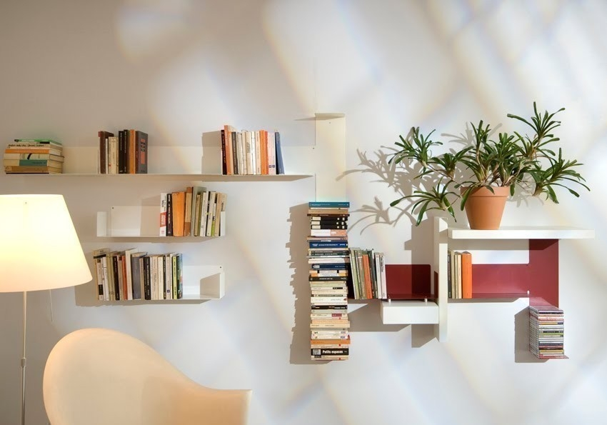 organizar libros - espacios pequeños