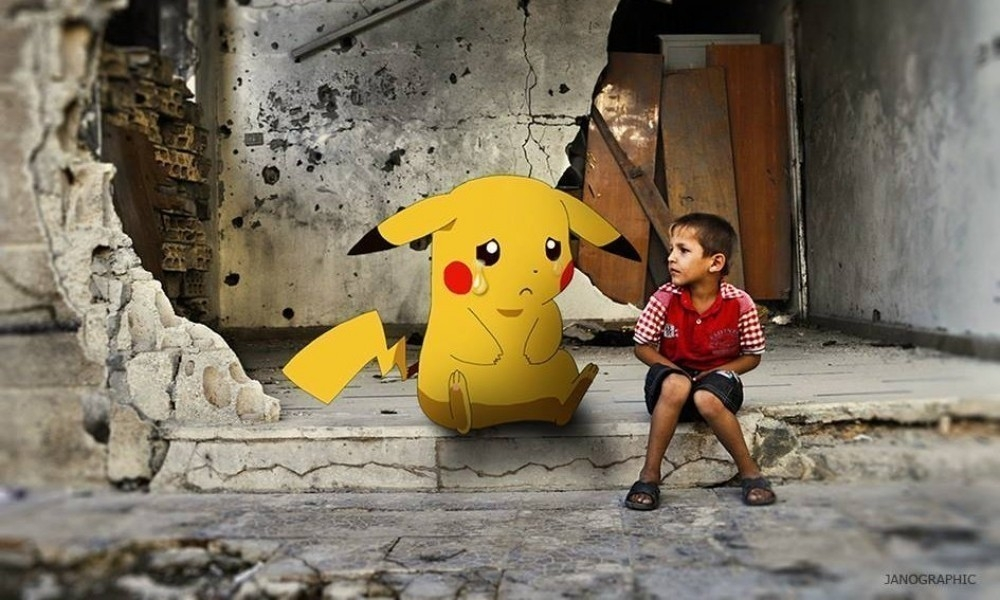 Pokemon Go Siria