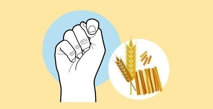 Cuánto comer según nuestras manos- hidratos de carbono