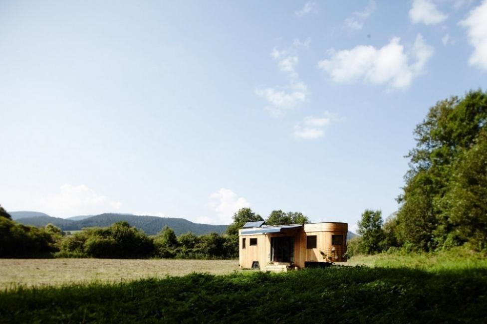 Una encantadora casita en muy pocos metros cuadrados - vision exterior