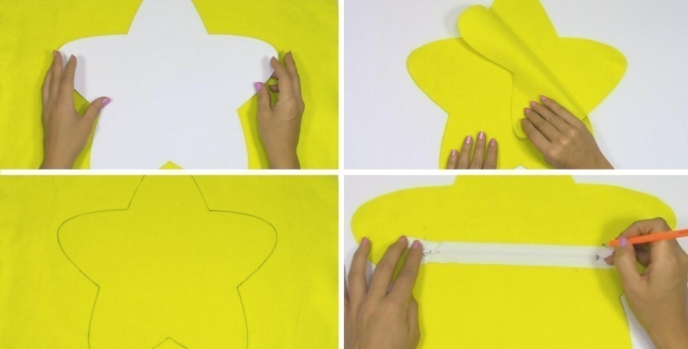 cómo hacer cojines con luz
