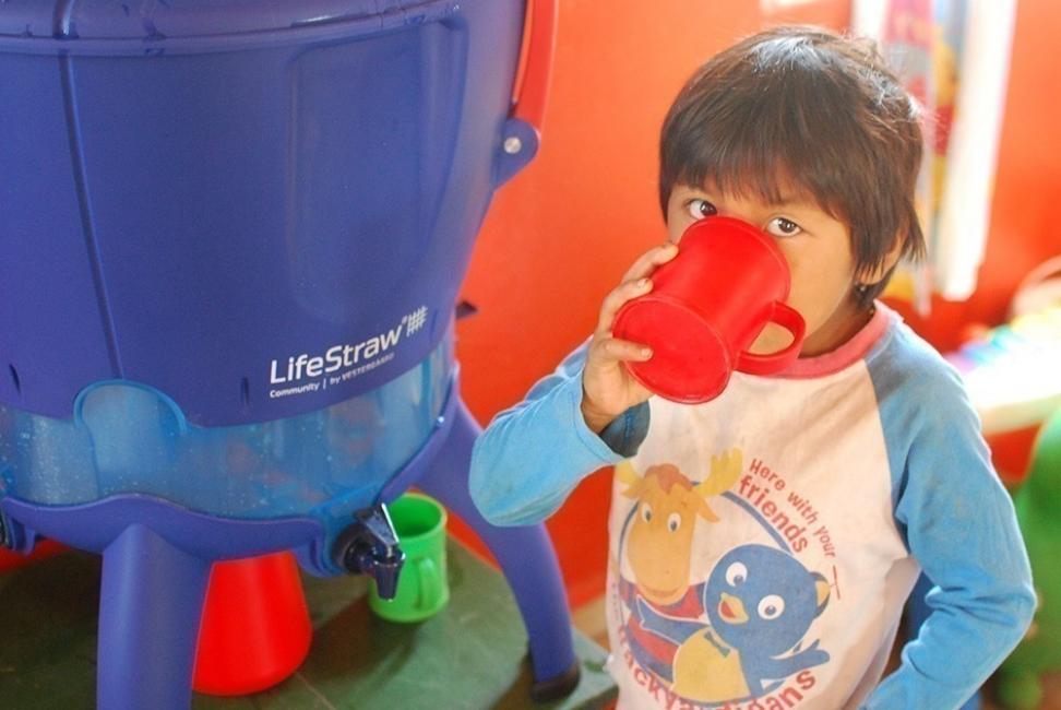 proyecto agua segura- filtros LifeStraw