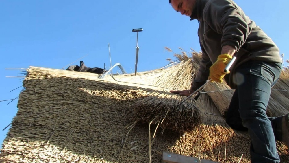 techos de paja para quinchos o pérgolas -