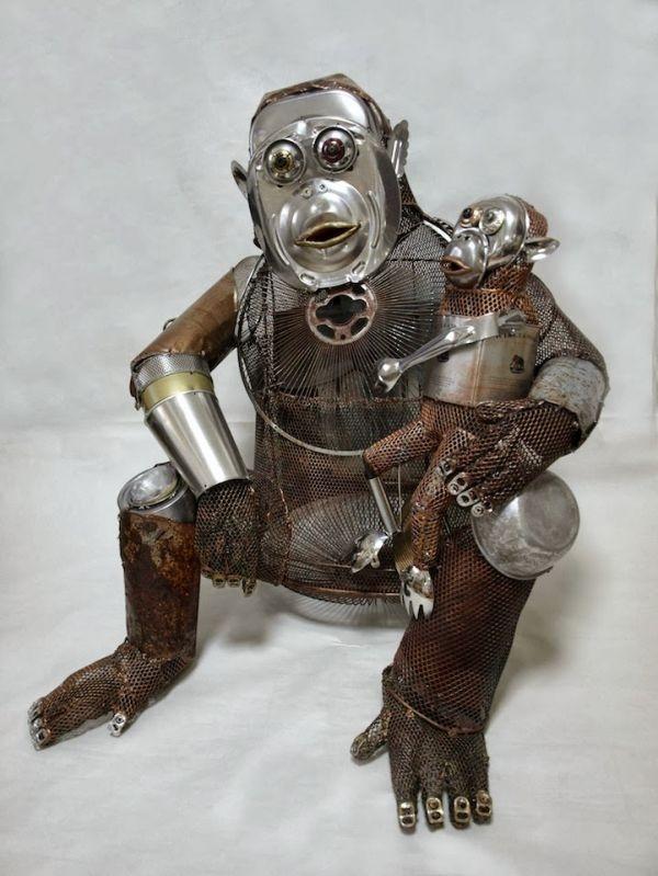 Natsumi Tomita Esculturas Recicladas 15