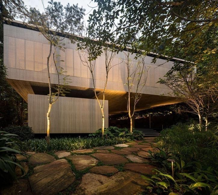 la casa en la jungla- arquitectura