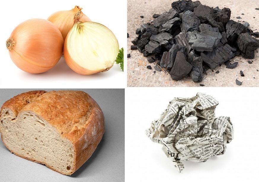 cómo eliminar olores del refrigerador - cebolla - pan - periódico - carbón