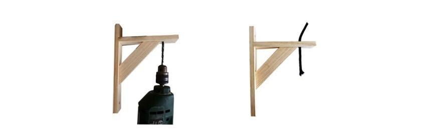 lámpara de cable paso 1