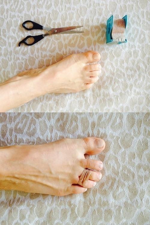 truco para pies