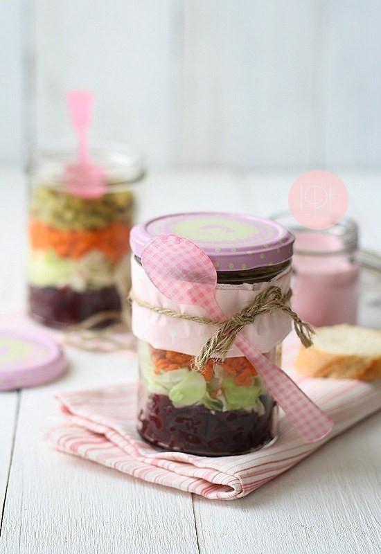 Ensalada tricolor -  Snacks saludables