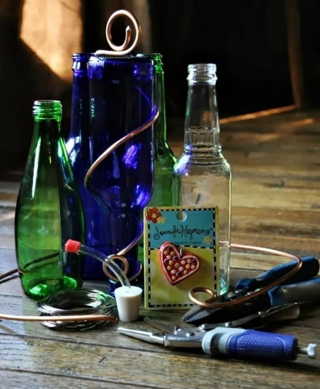 bebedero para colibrí- materiales