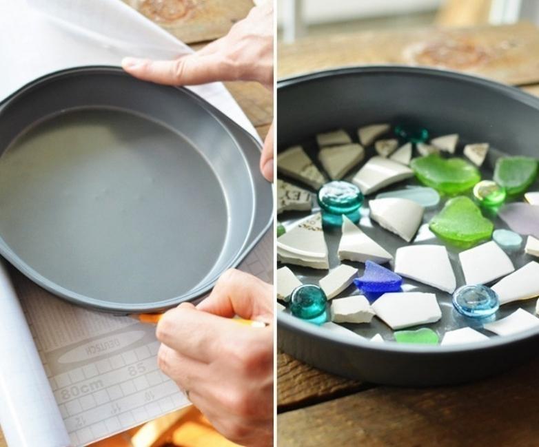 baldosas de mosaicos para tu jardín- diseño