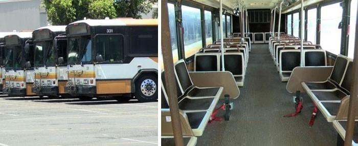 buses para sin techo - refugios- interior