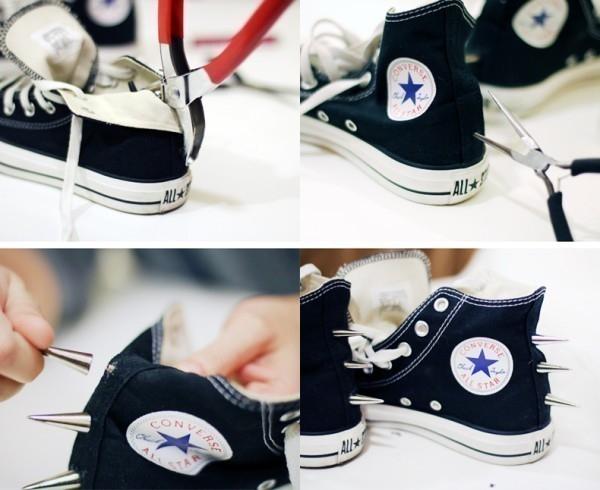 zapatillas estilo punk