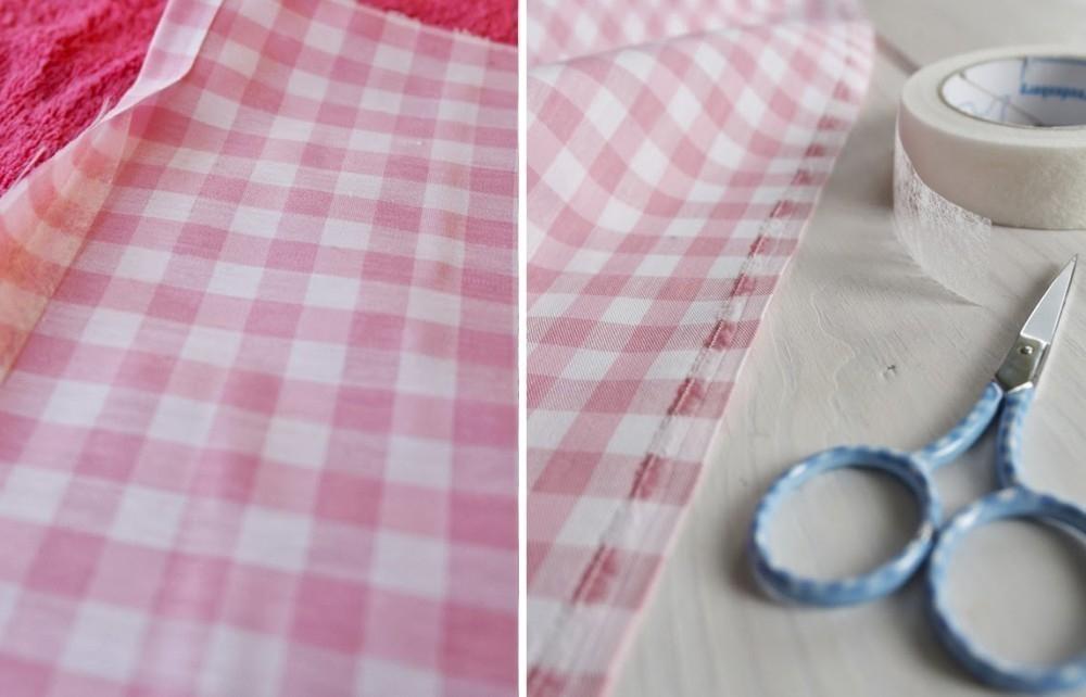 cortinas sin coser - pasos