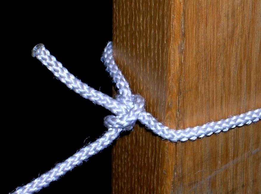 nudos y amarres para construcciones - cote doble