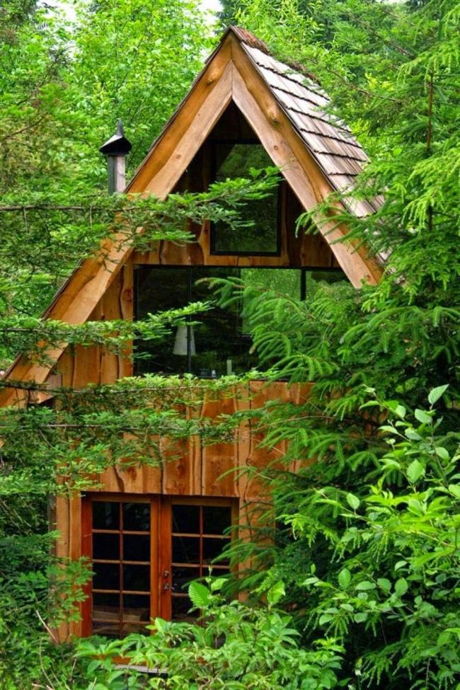 casa pequeña - cabaña
