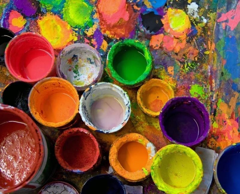 Pintura casera - colores
