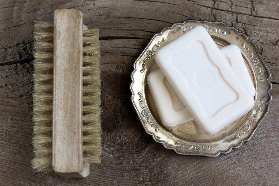 reutilizar jabón
