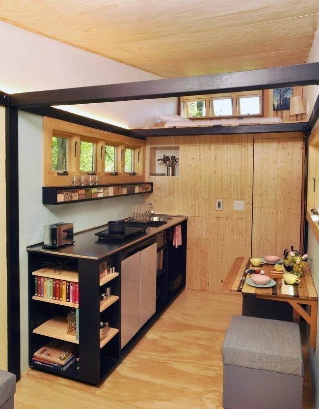multifuncional casita - cocina