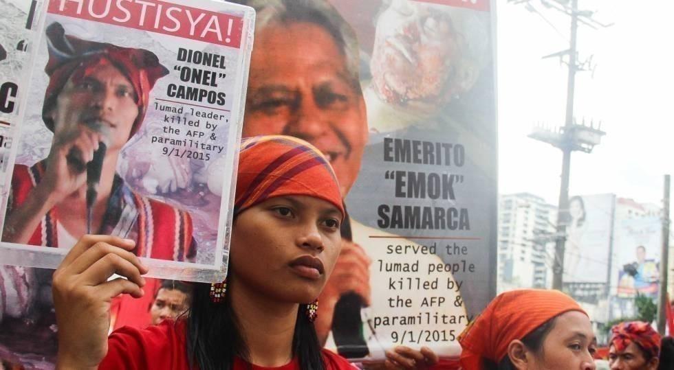 El 2015 fue el año con el récord más alto en asesinatos de activistas de todo el mundo