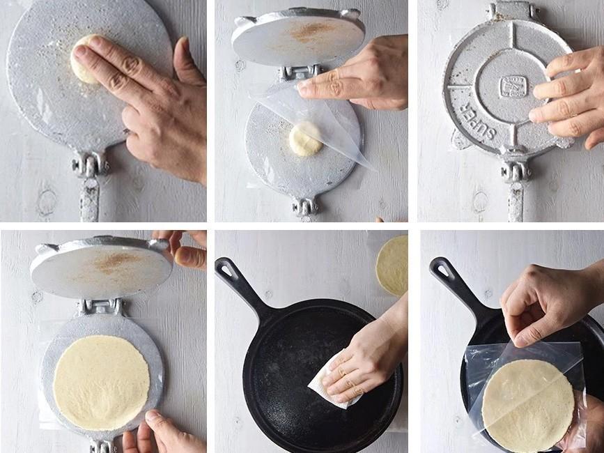 8 originales tortillas saludables - preparación
