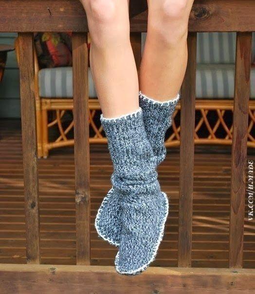 calcetines- invierno- diy