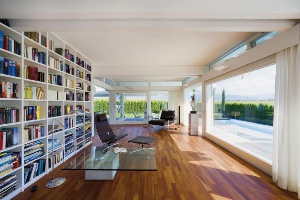 Casas estilo alemán, modulares y autosustentables- biblioteca