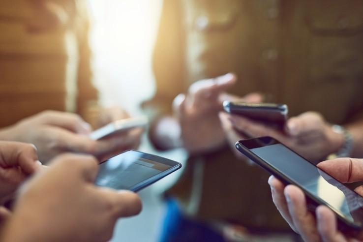 El auge del uso de celulares comenzó en los años 90