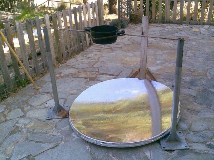 Cómo hacer una cocina solar casera - otro modelo