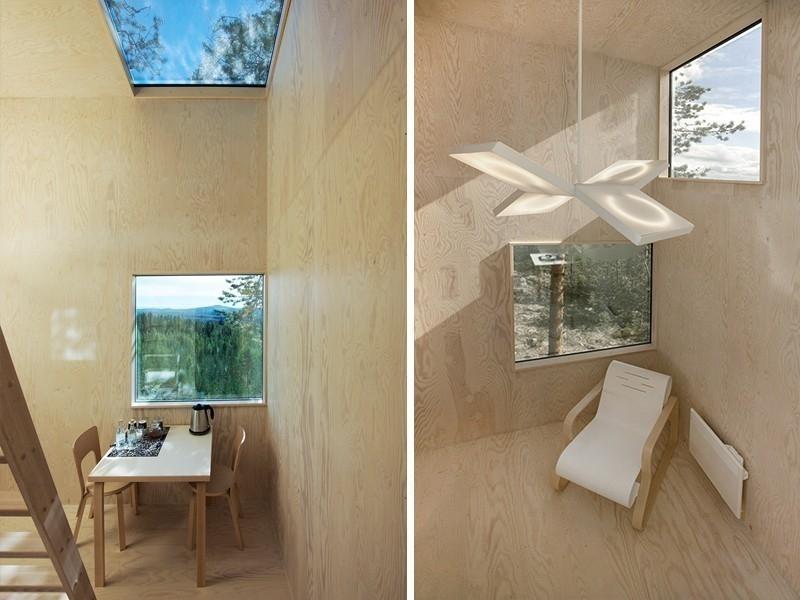 Un innovador eco hotel invisible- sala