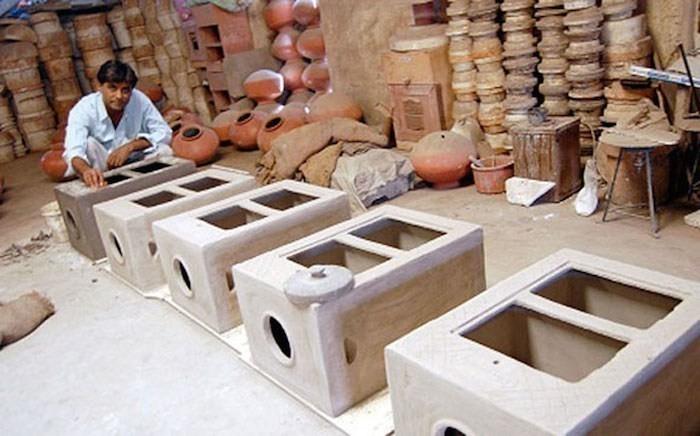 refrigerador sin electricidad Mansukhbhai Prajapati