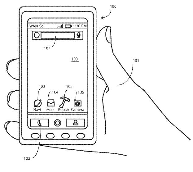 Funciones del celular patentado